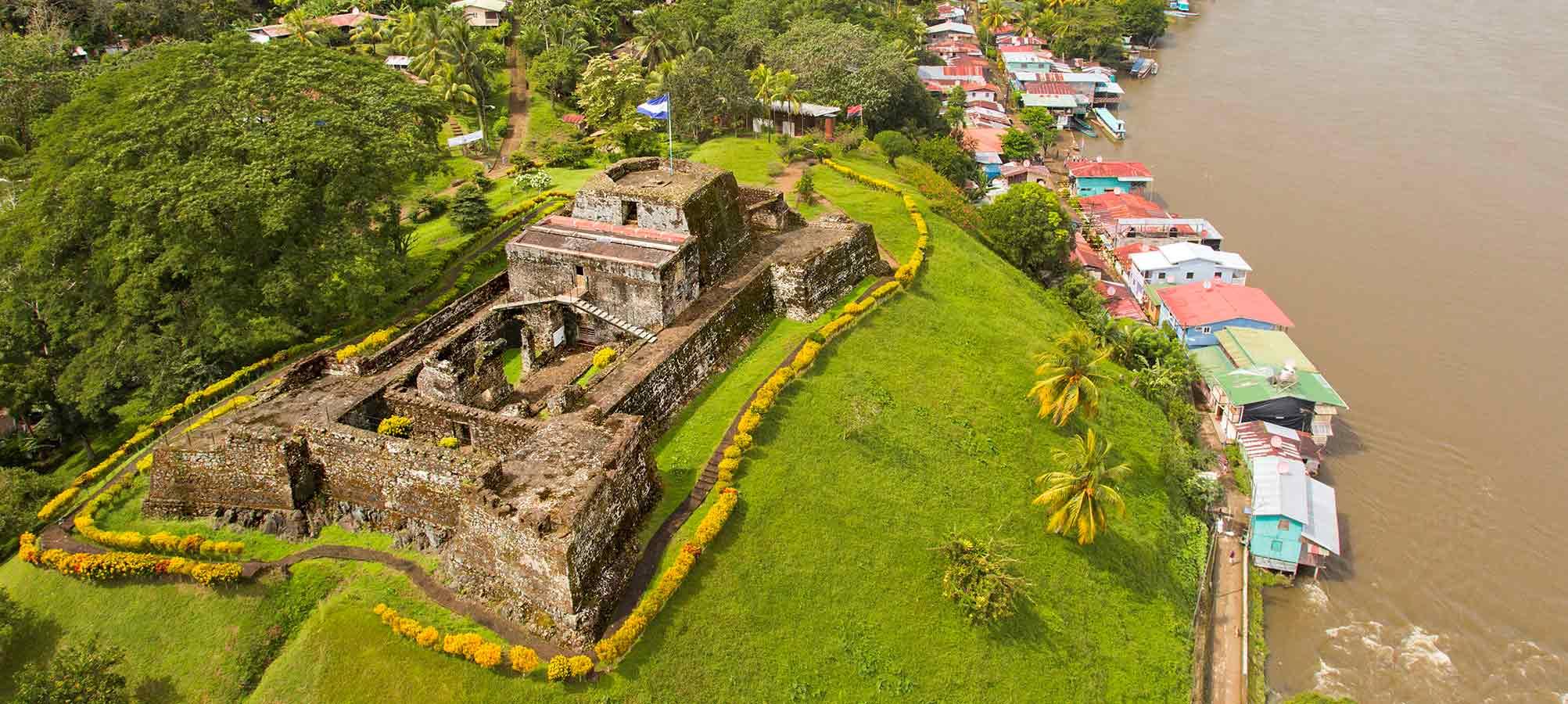 Vista aérea de El Castillo